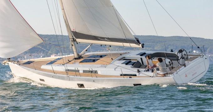 Verhuur Zeilboot in Athene - Hanse Hanse 458