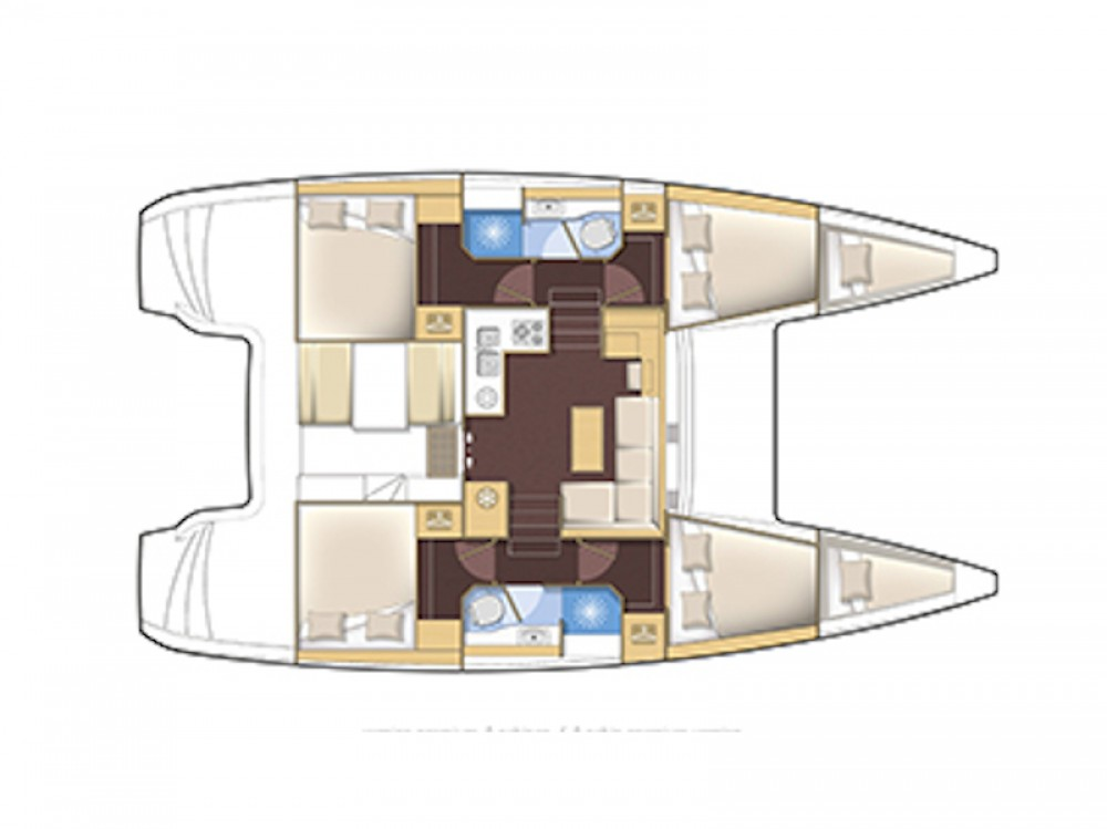Jachthuur in Murter - Lagoon Lagoon 39 via SamBoat