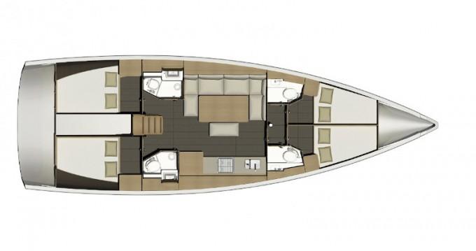 Verhuur Zeilboot in Follonica - Dufour Dufour 460 Grand Large