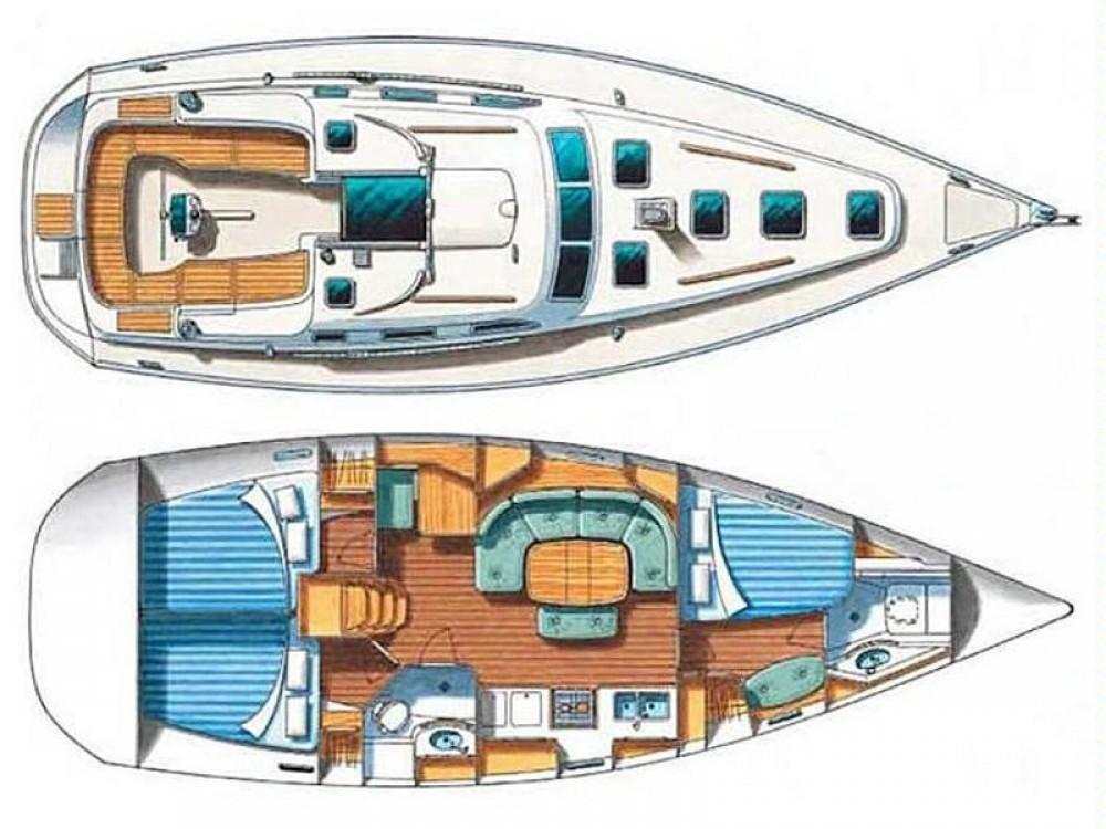 Bootverhuur Vinišće goedkoop Oceanis 393 Clipper