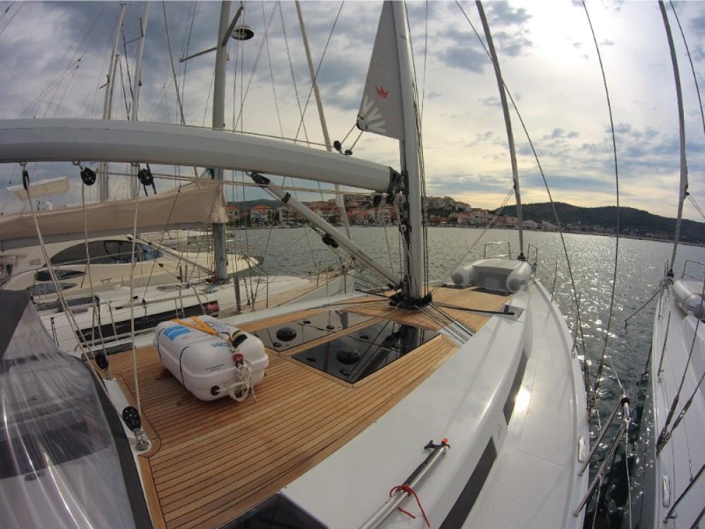 Verhuur Zeilboot in Rogoznica - Hanse Hanse 455