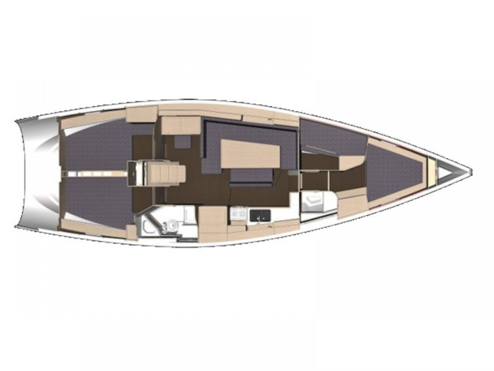 Verhuur Zeilboot in Zadar - Elan Elan Impression 45.1 - GEN + AC