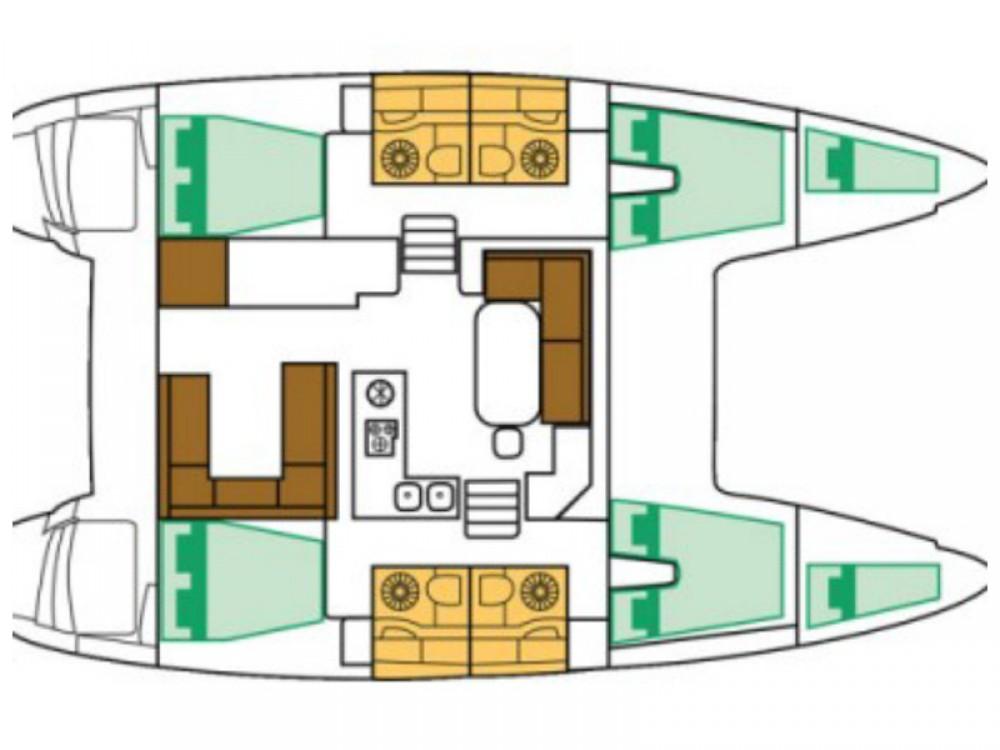 Huur Catamaran met of zonder schipper Lagoon in Split