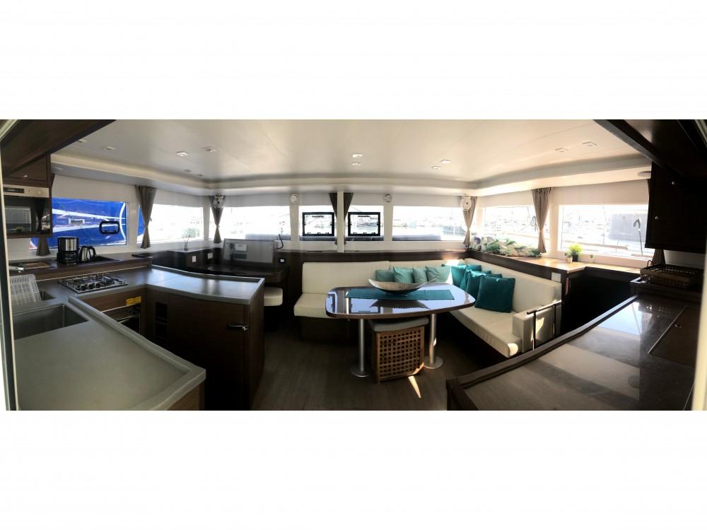 Verhuur Catamaran in Marina Gouvia - Lagoon Lagoon 450
