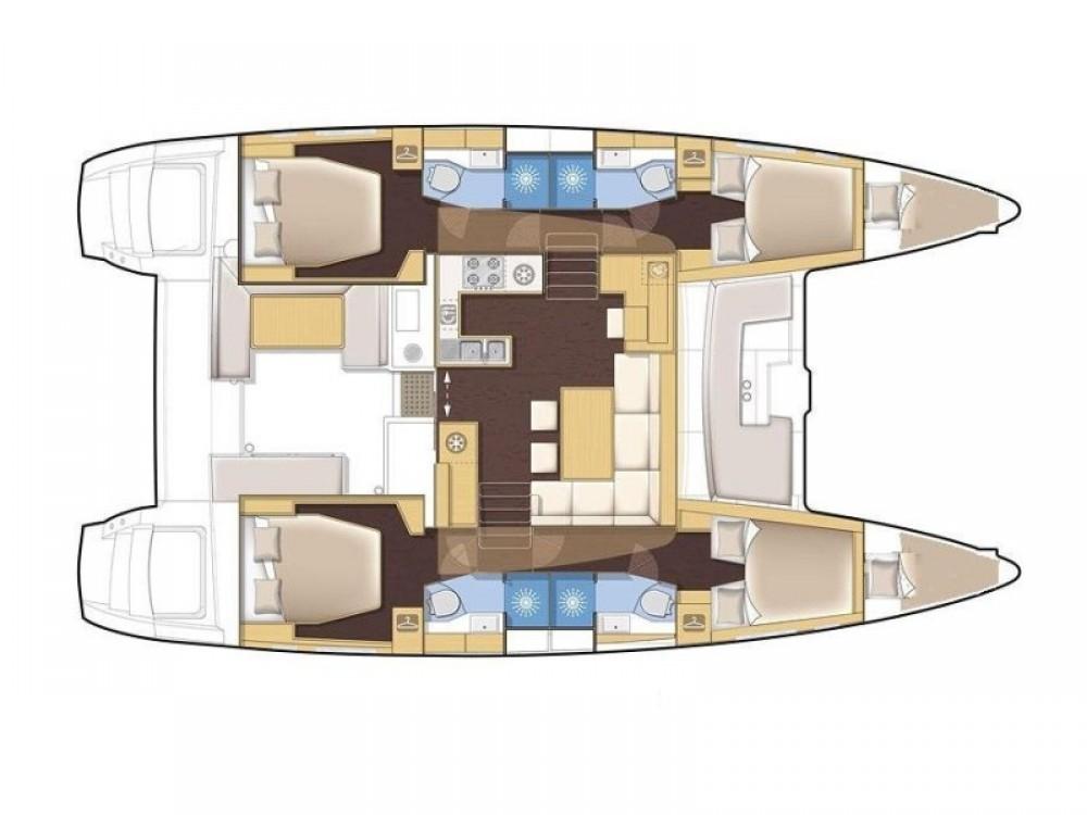 Jachthuur in Marina Gouvia - Lagoon Lagoon 450 via SamBoat