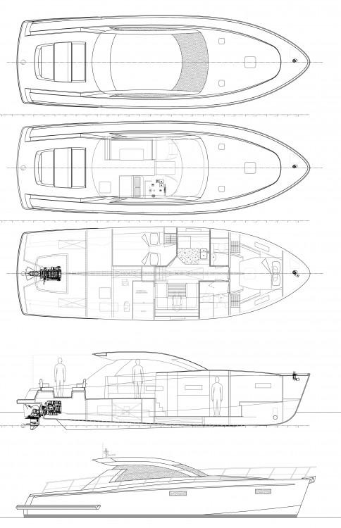 Huur Motorboot met of zonder schipper Cyrus in