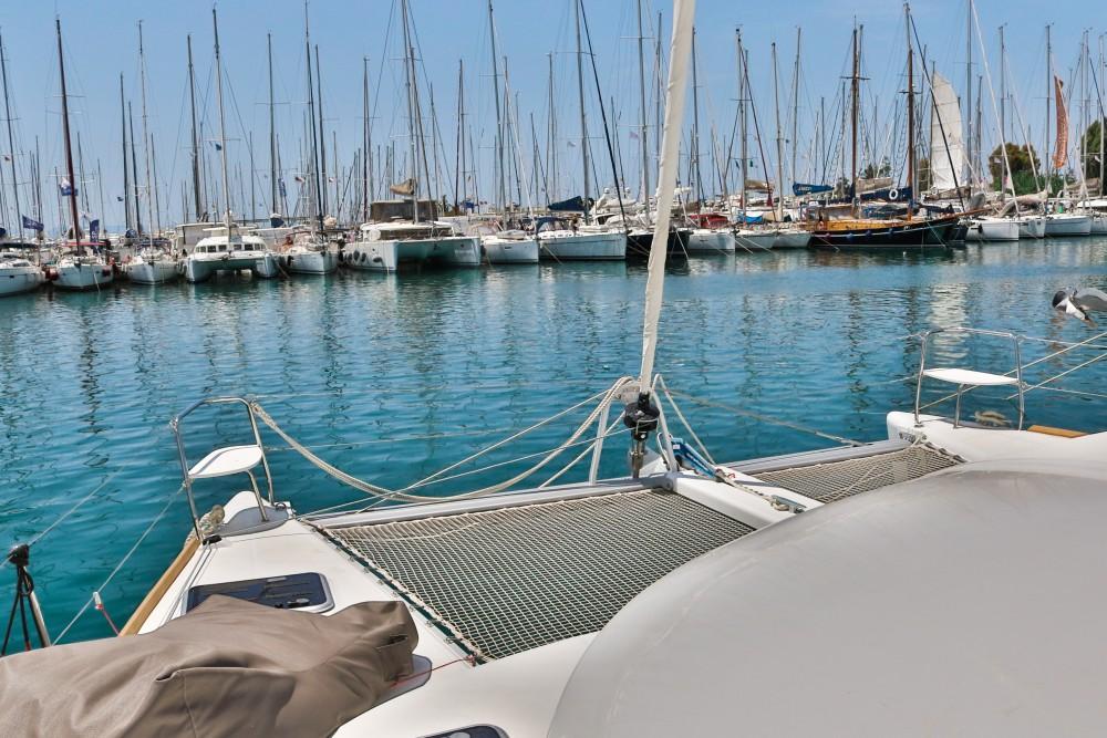 Jachthuur in Marina de Alimos - Lagoon Lagoon 380 ( INVENTER ) via SamBoat