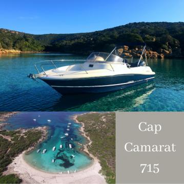 Jachthuur in Belvédère-Campomoro - Jeanneau Cap Camarat 715 WA via SamBoat