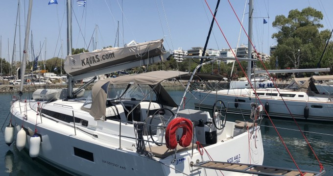 Jeanneau Sun Odyssey 440 te huur van particulier of professional in Lefkada (Island)