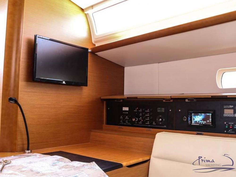Jeanneau Sun Odyssey 509 (2015 )( FULL REFIT 2020 - A/C,GENERATOR,INVENTER ) te huur van particulier of professional in Marina de Alimos