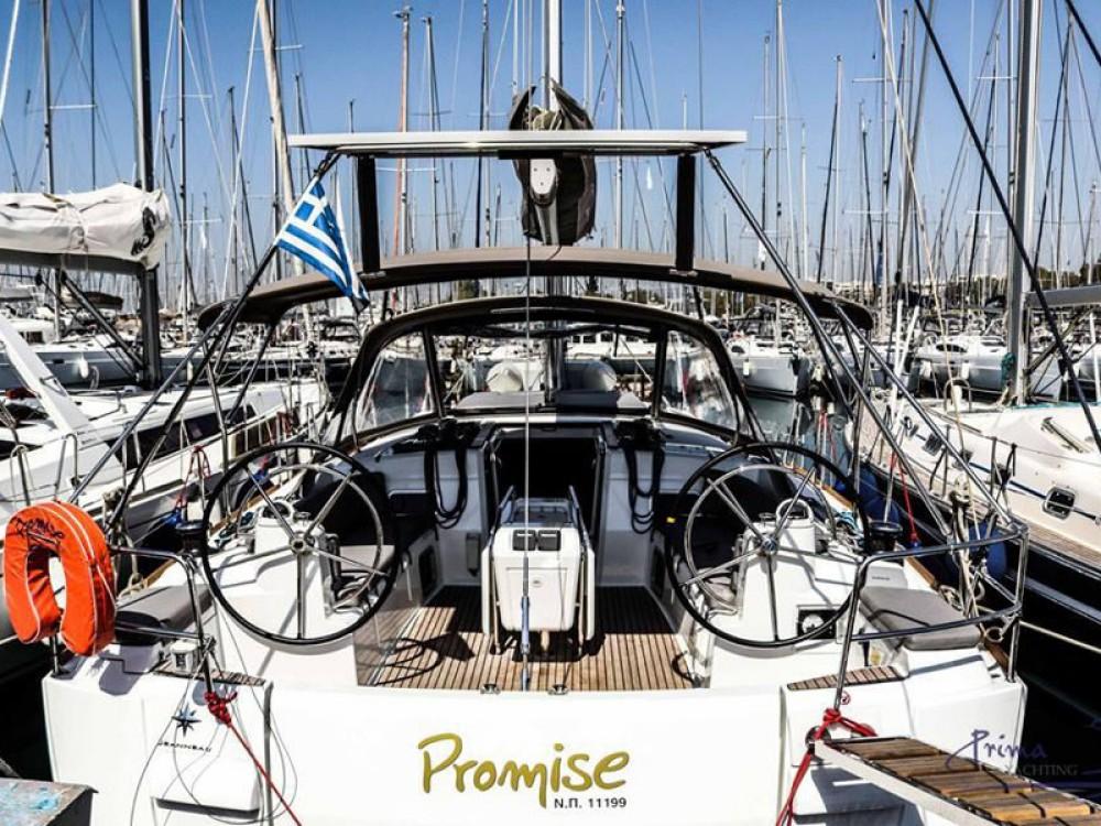 Verhuur Zeilboot in Marina de Alimos - Jeanneau Sun Odyssey 509 (2015 )( FULL REFIT 2020 - A/C,GENERATOR,INVENTER )