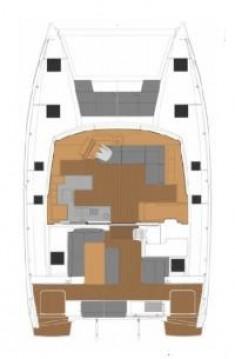 Verhuur Catamaran in Donji Seget - Fountaine Pajot Astrea 42