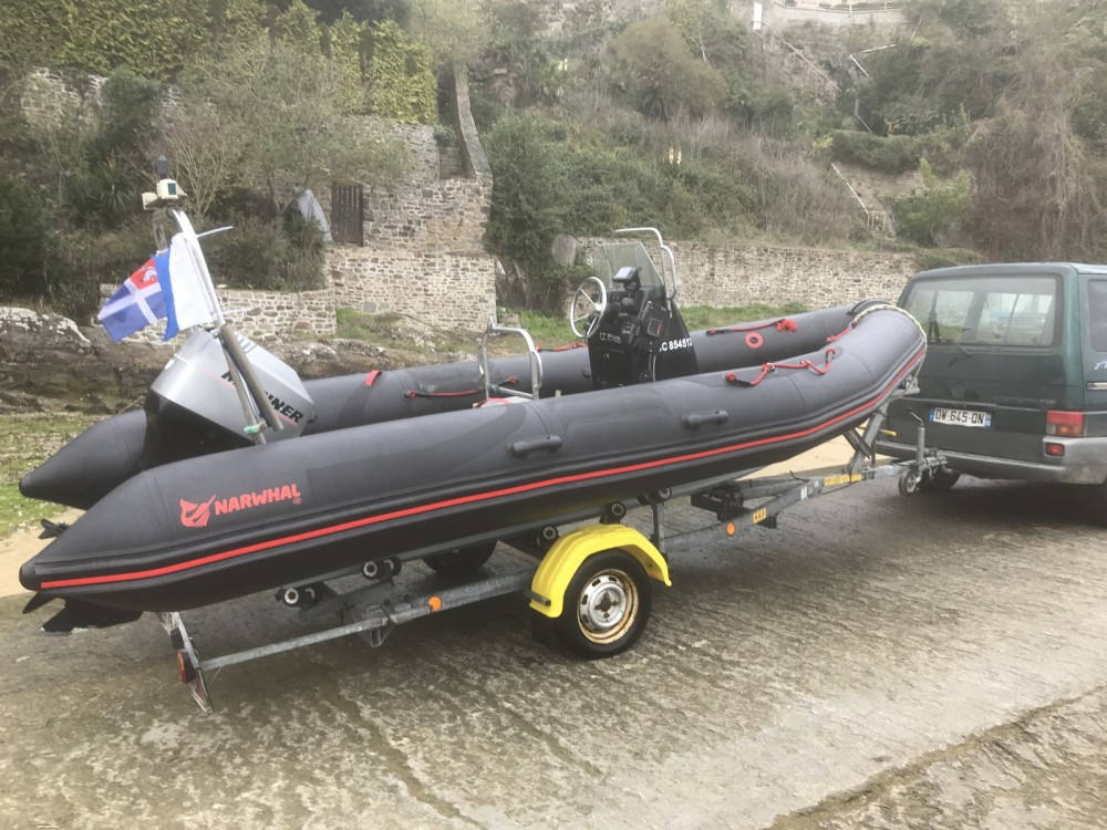 Verhuur Rubberboot in Saint-Malo - Narwhal Narwhal HD 550