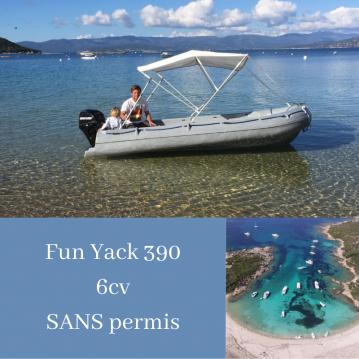 Jachthuur in Serra-di-Ferro - Fun Yak Fun Yak 390 via SamBoat