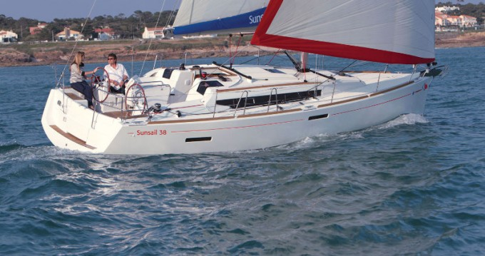 Bootverhuur Jeanneau Sunsail 38 in Lefkada (Island) via SamBoat