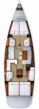 Verhuur Zeilboot in Portocolom - Jeanneau Jeanneau 53