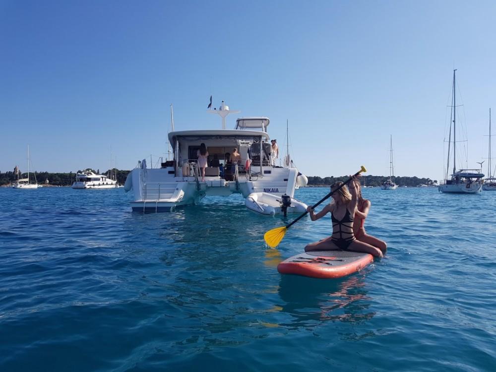 Bootverhuur Cannes goedkoop Lagoon 40 Motor Yacht