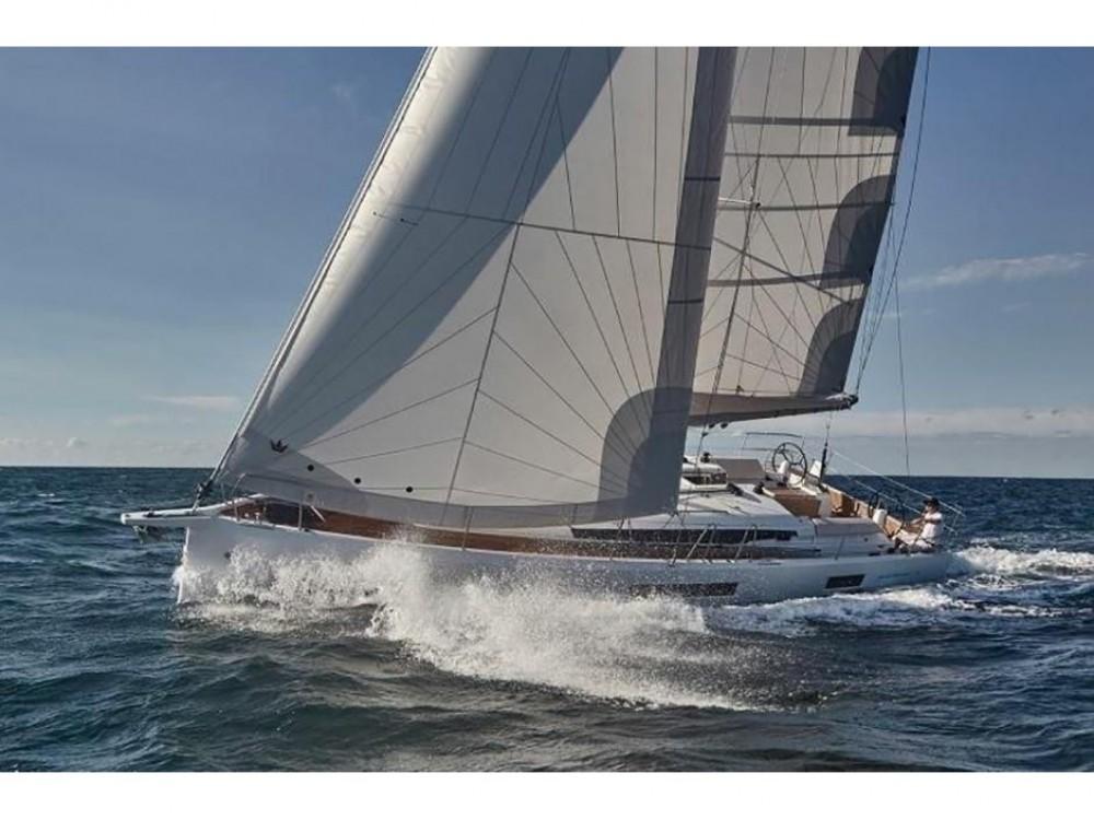 Verhuur Zeilboot in Áno Sýros - Jeanneau Sun Odyssey 440