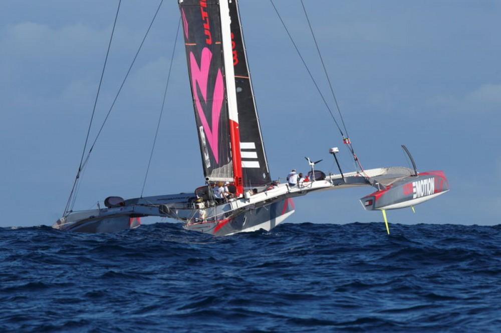 Huur een Trimaran Prototype course in Saint-Tropez