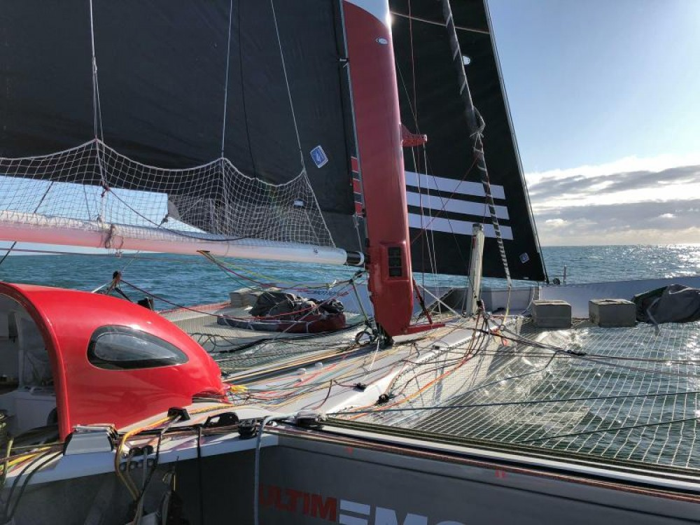 Verhuur Catamaran in Sète - Trimaran Prototype course