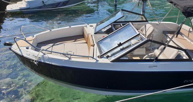 Verhuur Motorboot in Évian-les-Bains - Quicksilver Activ 555 Bowrider