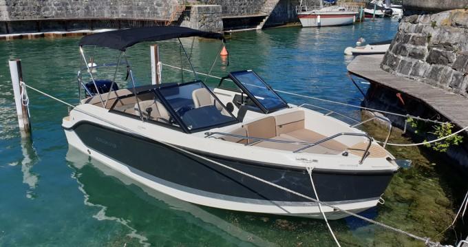 Huur Motorboot met of zonder schipper Quicksilver in Évian-les-Bains