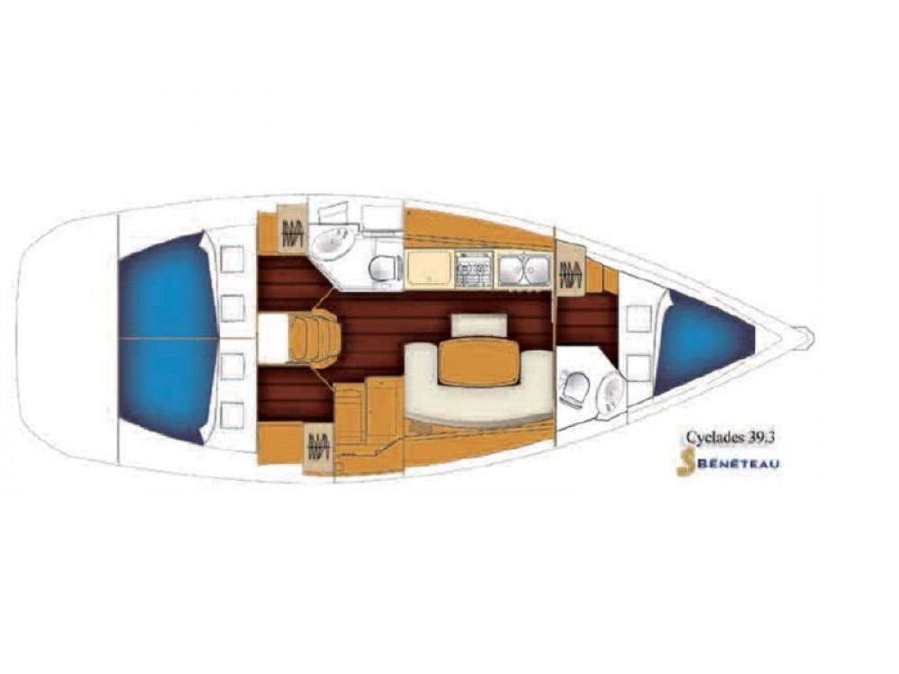 Bootverhuur Marina de Alimos goedkoop Cyclades 39.3