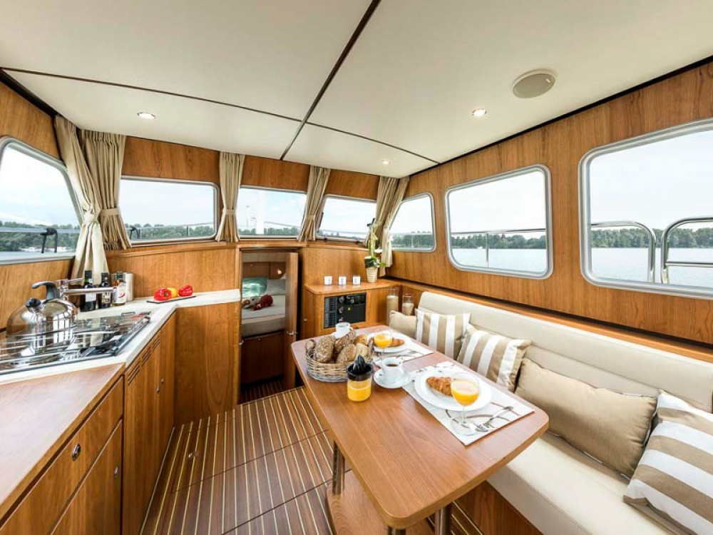 Huur Motorboot met of zonder schipper Linssen in BWSV Beernem