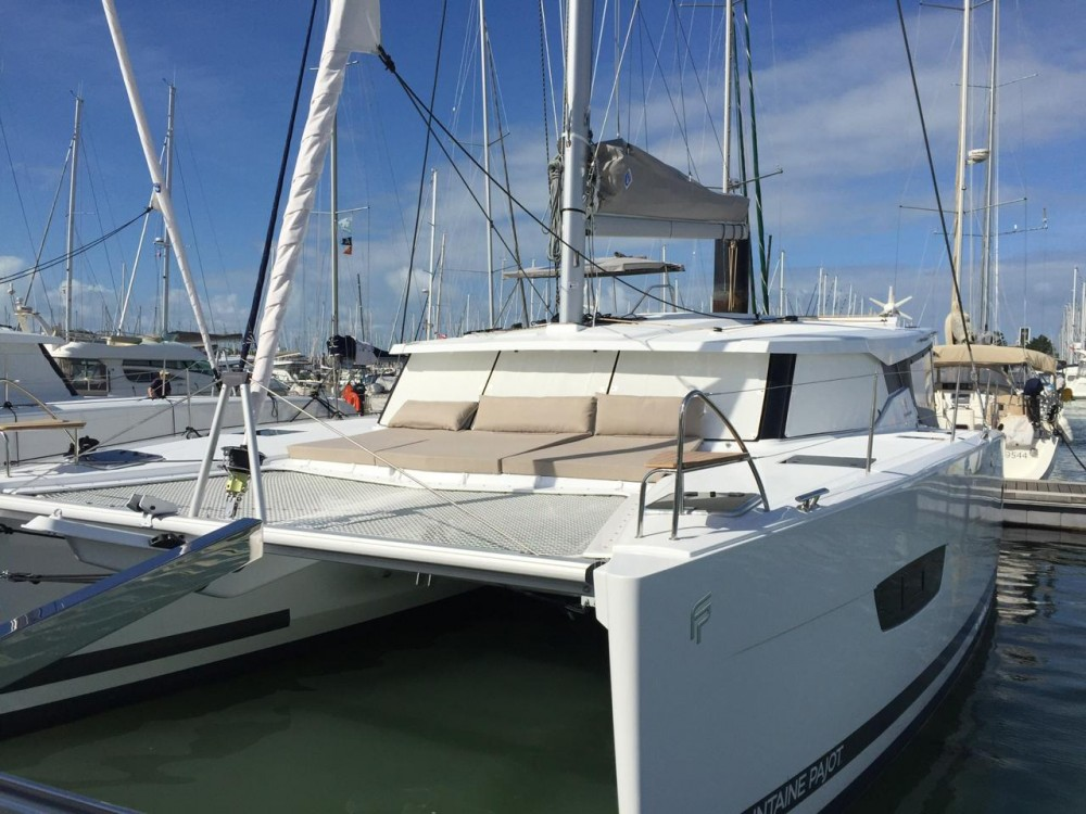 Jachthuur in Ibiza - Fountaine Pajot Lucia 40 via SamBoat
