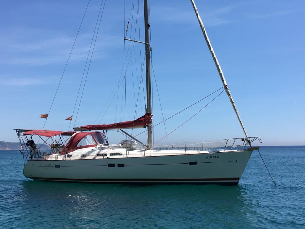 Verhuur Zeilboot in Palamós - Bénéteau Oceanis Clipper 423