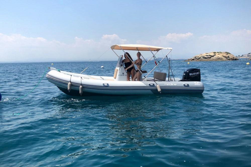 Huur Rubberboot met of zonder schipper Zodiac in La Trinité-sur-Mer