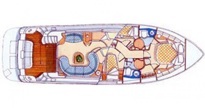 Huur Motorboot met of zonder schipper Azimut in Lefkada (Island)