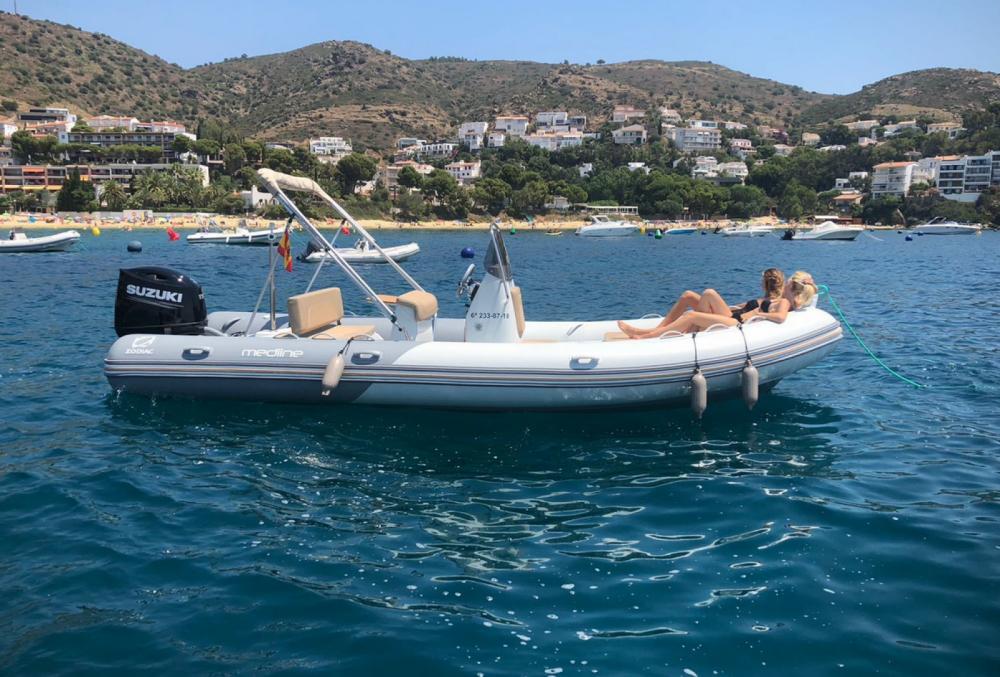 Huur Rubberboot met of zonder schipper Zodiac in La Rochelle