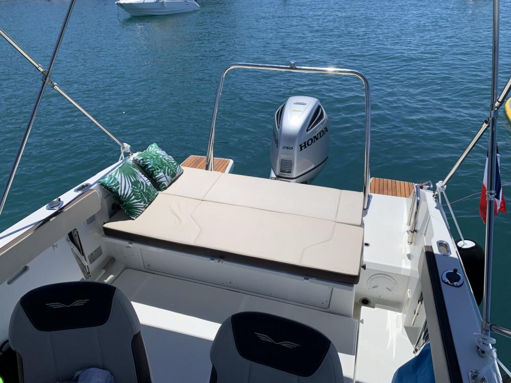 Verhuur Motorboot in Antibes - Bénéteau Flyer 7.7 SUNdeck