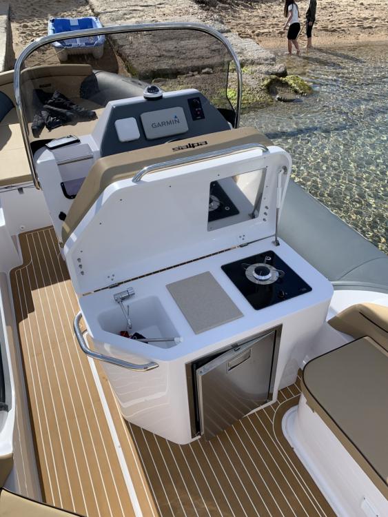 Verhuur Rubberboot in Pietrosella - Salpa soleil 23