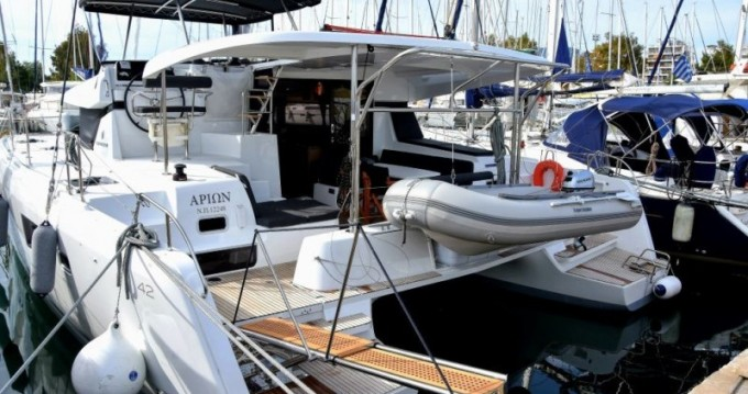 Verhuur Catamaran in Lefkada (Island) - Lagoon Lagoon 42