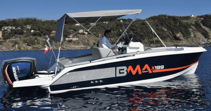 Huur een BMA BMA X199 in Mahón