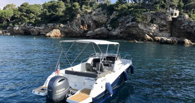 Huur een Jeanneau Cap Camarat 6.5 WA Serie 3 in Antibes