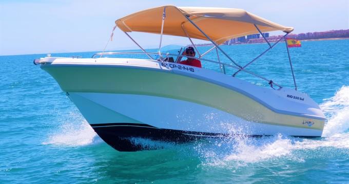 Verhuur Motorboot in Torrevieja - Rio Rio 550 SOL