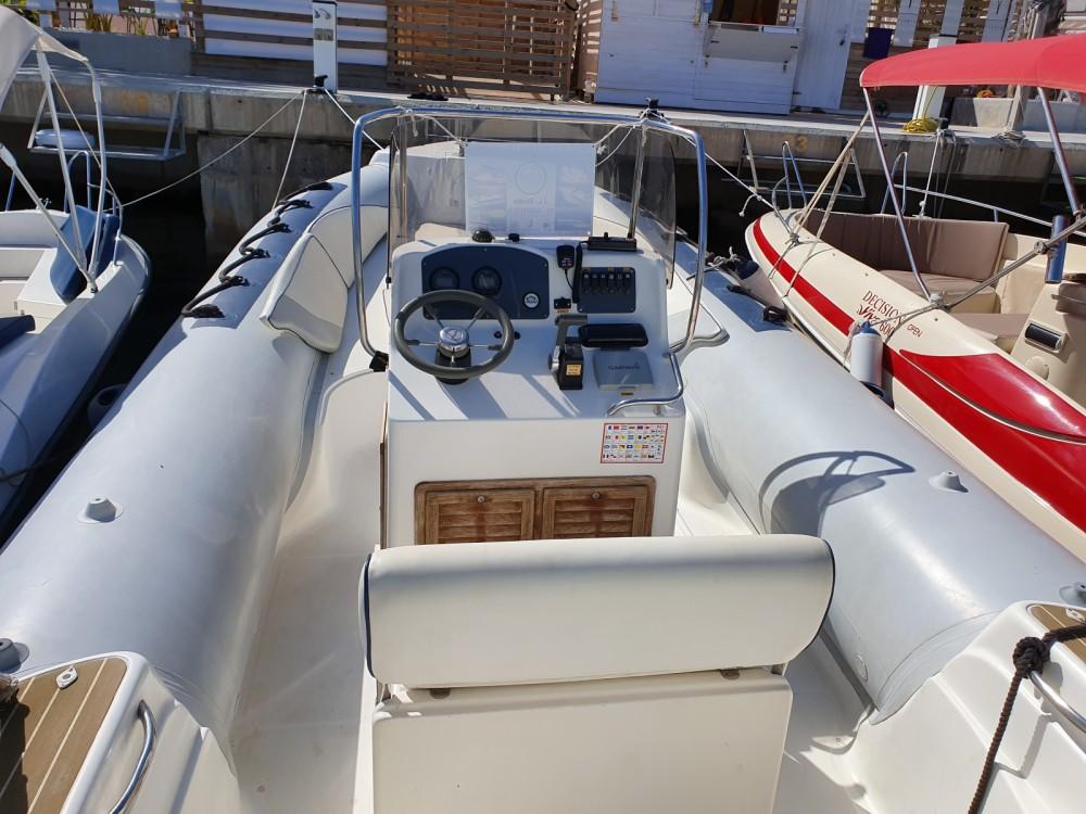 Verhuur Rubberboot in Torrevieja - Capelli Temepst 800 Open