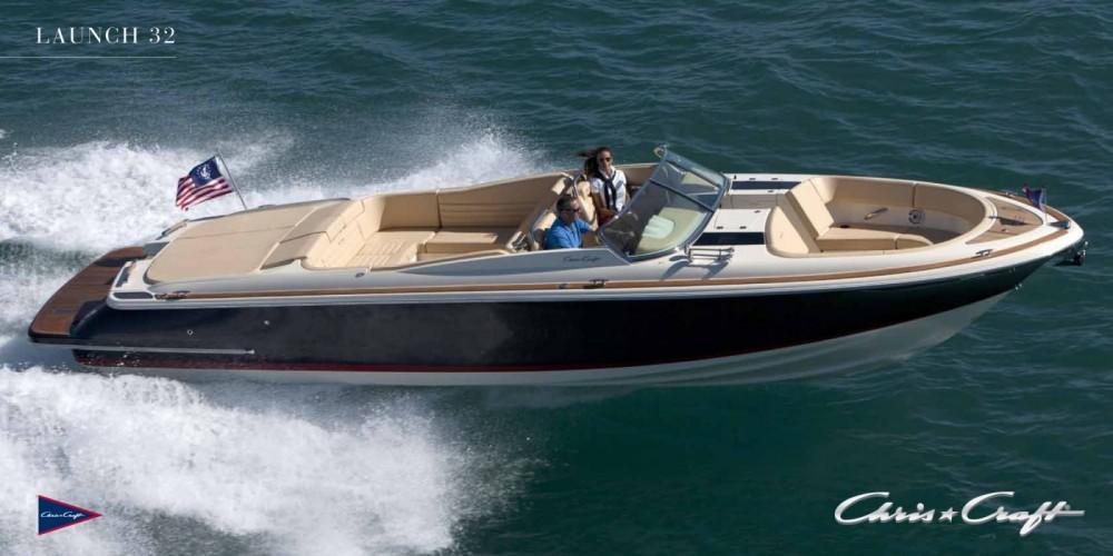 Huur Motorboot met of zonder schipper Chris Craft in Balearen