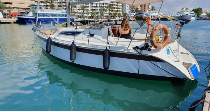 Verhuur Zeilboot in Ibiza Town - Jeanneau Sun Odyssey 28.1