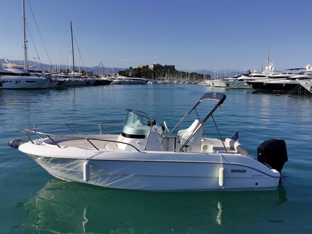 Jachthuur in Antibes - Sessa Marine Key Largo 22 Deck via SamBoat