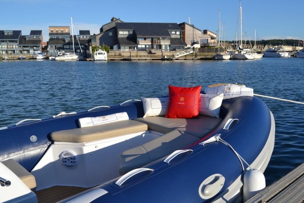 Verhuur Rubberboot in Deauville - Tiger Proline 620