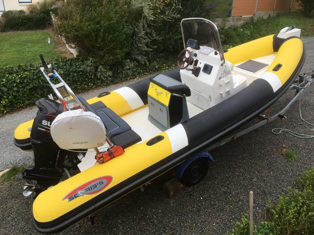 Verhuur Rubberboot in Moëlan-sur-Mer - Searibs 580 open