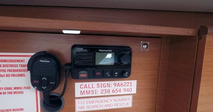 Verhuur Zeilboot in Šibenik - Dufour Dufour 460 4 cab