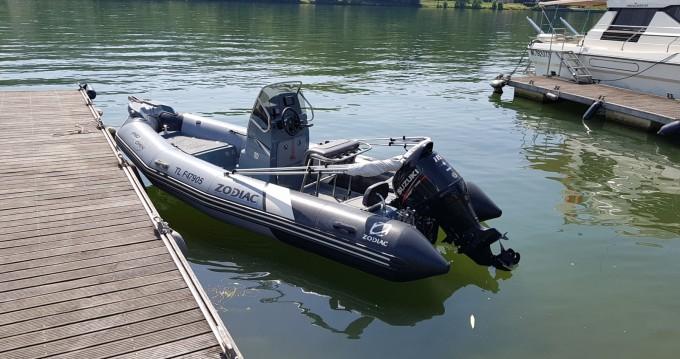 Verhuur Rubberboot in Larmor-Plage - Zodiac Pro Open 550 Raid Edition