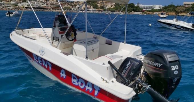 Verhuur Motorboot in Agía Pelagía - Compass Compass 150 CC