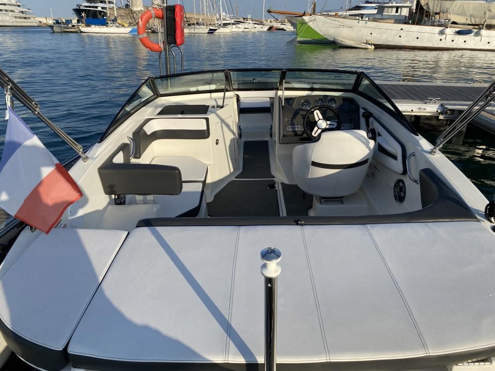 Verhuur Motorboot in Antibes - Sea Ray SPX 190 OB