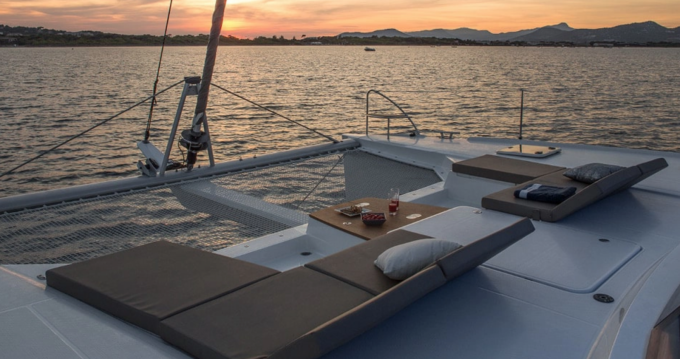 Verhuur Catamaran in La Rochelle - Fountaine Pajot Saba 50